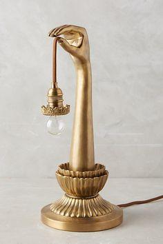 Lightbearer Table Lamp #anthropologie