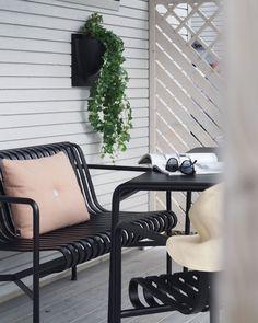 Palissade Loungesoffa, Anthracite - Hay @ Rum21.se Outdoor Spaces, Outdoor Chairs, Outdoor Living, Outdoor Furniture, Outdoor Decor, Ronan & Erwan Bouroullec, Terrace Garden, Scandinavian Design, Exterior