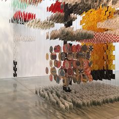 Jacob Hashimoto, Mary Boone Gallery, NYC