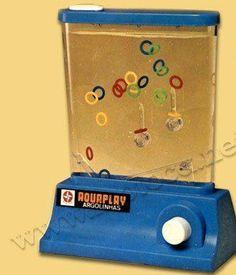 Aquaplay  outro dia vendo um filme estava um menino brincando com um destes e me lembrei dos meus e do meu filho, háháháhá tinha vários