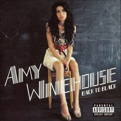 Amy Winehouse, 'Back To Black' Sold: million. 'Back To Black' was the last Amy Winehouse album to be released before her death and blends soul with modern RB production. Back To Black, Black Tv, Cool Album Covers, Music Album Covers, Iconic Album Covers, Classic Album Covers, Greatest Album Covers, Amy Winehouse Albums, Teaser
