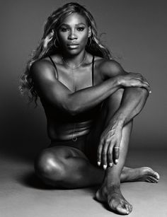 Serena Williams (1981) - American professional tennis player who is currently ranked No. 1 in women's singles tennis. Photo © Paola Kudacki for Time
