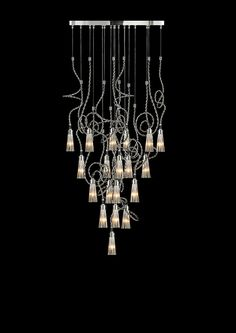 Designer pendant lighting by Brand van Egmond. See the Sultans of Swing collection and other modern light fixtures at WWW. Modern Dining Room Lighting, Modern Floor Lamps, Modern Lighting, Sultans Of Swing, Unique Table Lamps, Contemporary Chandelier, Modern Light Fixtures, Decorative Lights, Light Decorations
