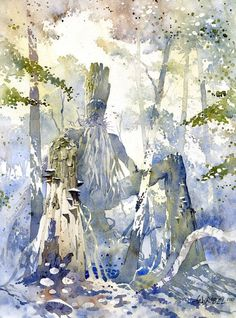 Grzegorz Wrobel Watercolor