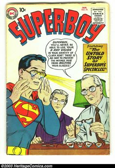 1955 - Before our comic book' heroes were turned into darker characters by modern writers