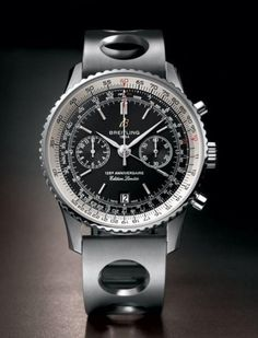 Breitling Chronometer Limited Edition 125 An. - #breitling #watches #menswear #fashion #mensfashion