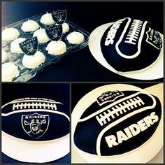 Raiders Cake & Cupcakes