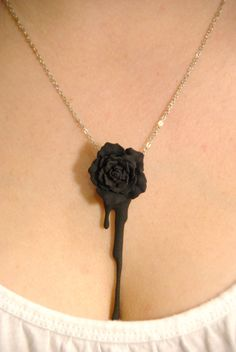Hermoso! Una rosa negra! I love it