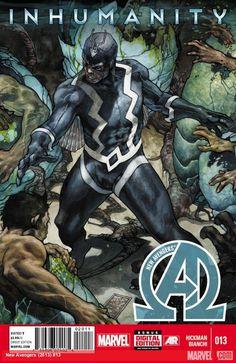 Inhumans Comic Book | New Avengers #13 courtesy Marvel