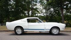 1967 FORD GT500 SUPER SNAKE cars fastback white