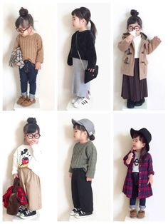Ideas style girl fashion kids for 2019 Little Girl Outfits, Kids Outfits Girls, Little Girl Fashion, Girls Dresses, Outfits Niños, Winter Outfits, Fashion Kids, Little Fashionista, Stylish Kids