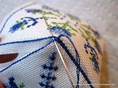 ! Lynn B 's finishing instructions for cross stitch !