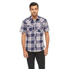 Dickies Men's Classic Fit Shirt - Evening Blue Xxxl, Dark Blue