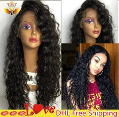 71.28$  Buy now - http://alizdo.worldwells.pw/go.php?t=32774912436 - Cheap Human Hair Full Lace Wigs With Baby Hair Peruvian Virgin Hair Full Lace Human Hair Wig Glueless lace Front Wig Black Women