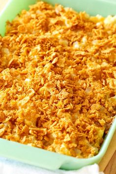 Made with simple ingredients, this Easy & Delicious Cheesy Potato Casserole is a must-have for any get-together you host!