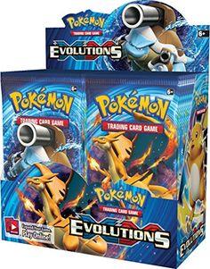 pokemon evolutions booster box