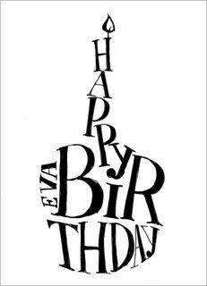 ┌iiiii┐                                                              Happy Birthday!! EVA