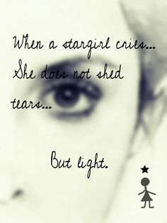 Quote from Stargirl.