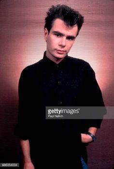 Portrait of British musician Nik Kershaw at the Poplar Creek Music Theater in Hoffman Estates Illinois August 27 1985
