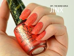 ZigiZtyle: OPI Bond Girls Collection (Liquid Sand)