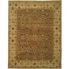 Add a sophisticated touch to any room in your home with this Oriental hand-knotted wool rug. Produced from plush wool, this classic hand-spun rug will provide warmth and comfort while offering your family many years of use and enjoyment.