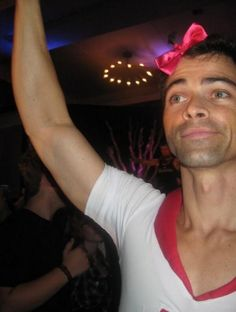 Matt Cohen - that's our boy. Yep. The one with the bow in his hair.