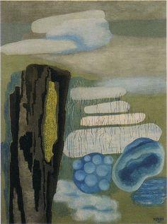 'in the fog' - toyen (1933)