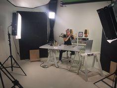 Kuvauspäivä studiolla Uino-blogin Ainon kanssa, toukokuun LivBox paljastanee, mitä Ainon kanssa puuhasimme ;)