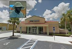 DeLand Police are searching for a man who robbed a bank Tuesday morning.The man walked into the PNC Bank at 111 Endicott Way shortly after 10 a.m. and