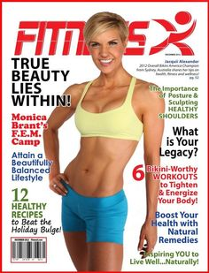 Fitness X magazine - Inspiring you to live well. Naturally!