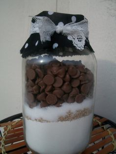 Chocolate Chip Muffin Mix by GiftsByCourtney on Etsy