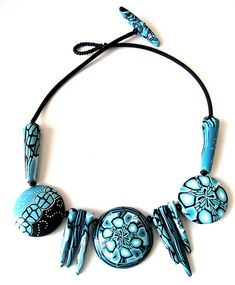 Sonja's Polymer Creations - Thessaloniki necklace