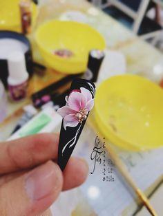 3d Nail Designs, Nail Art Designs Videos, Nails Design, 3d Acrylic Nails, 3d Nails, Rose Nail Art, 3d Nail Art, Cowboy Nails, Nail Art Printer