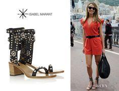 Fashion Trends: Stacy Keibler's Isabel Marant 'Elvis' Studded Sandals