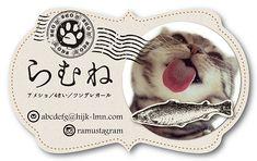 ペット名刺 型抜き名刺 猫デザイン 横型002オーダーメイド 猫グッズ (1個30枚入)【楽天市場】