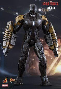 Striker, une des armures de l'Iron Legion dans Iron Man 3.