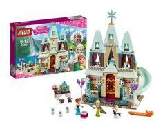 519 cái Arendelle Lâu Đài Khối Xây Dựng Mô Hình Thiết Chúa Anna Elsa món quà Giáng Sinh Con Số Tương Thích Lepin Bạn Bè