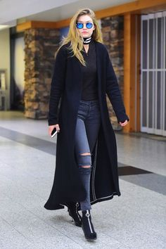 Gigi Hadid Has Been Wearing This New Denim Brand Constantly #refinery29  http://www.refinery29.com/2016/04/107766/gigi-hadid-jeans-parker-smith#slide-4  Damn, Gigi! Back at it again with the Kam Skinny. (Sorry, we couldn't resist.) ...