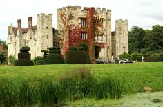 Anne Boleyn's childhood home, and later the home of Henry VIII's third wife, Anne of Cleves, Hever Castle comprises a romantic thirteenth-century castle set in a lush Italianate garden flanked by a a lake and an ancient yew maze with a folly in its center.