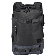 Skate and work on laptops on the regular  Nixon s Del Mar Backpack features  internal laptop compartment, adjustable skate carry straps, padded shoulder  ... 95e9c7c30a