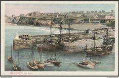 The Quay, Newquay, Cornwall, c.1905 - Peacock Postcard
