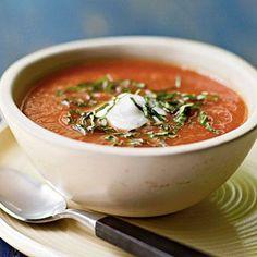 Fresh Tomato Soup | CookingLight.com