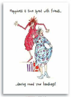Camilla & Rose Greeting Card - Happiness