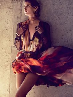 visual optimism; fashion editorials, shows, campaigns & more!: modern movement: drake burnette by will davidson for vogue australia september 2014