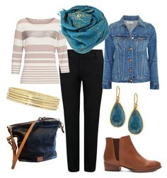 Donna's Reunion - Casual2 by scout1076 on Polyvore featuring Betty Barclay, Madewell, Reiko, Seychelles, Dooney & Bourke, Ippolita, Liz Claiborne and Bajra