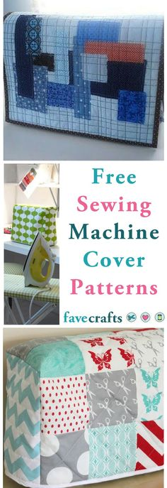15 Free Sewing Patterns for Machine Covers  #sewing #sewingmachine #sewingmachinecover #sewingcovers #sewingpatterns #free #DIY #freesewingpatterns