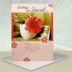 Birthdays Are Special Jumbo Card.  Birthday Are Special…They Make Us realize how much we are loved and appreciated by everybody around us.Hope you take pride in all you've accomplished,and rejoice. Here's wishing your special day brings you the same joys and comfort as you bring to others lives,by being who you are.Enjoy Your Birthday!.. | Rs. 250 | Shop Now | Card Size : Height :48 cm X Length : 33 cm | https://hallmarkcards.co.in/collections/shop-all/products/best-wishes-birthday-greetings