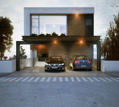 Casa Diez #altozano #casa #house #fachada #cochera www.aparquitectos.mx