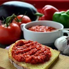 Ajvar - red pepper spread