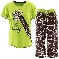Lazy One Womens Capri Giraffe Long Day Pajama Set XS Lazy... https://www.amazon.com/dp/B00YF9SC7A/ref=cm_sw_r_pi_dp_x_46I0xbMHER2FH
